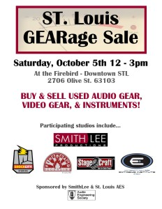 GEARage Sale October 5th