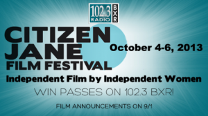 Citizen Jane Film Festival Opens October 4th